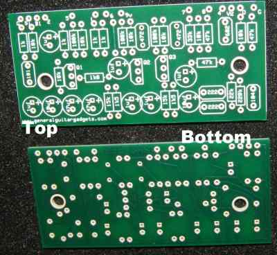ROLAND BEE BAA BOOSTER/DISTORTION RTS PCB