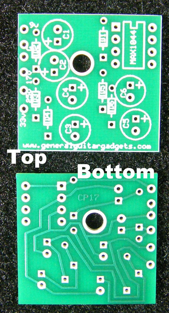 CHARGE PUMP VOLTAGE UP RTS PCB