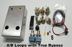 DUAL EFFECTS LOOP SWITCH BOX COMPLETE KIT