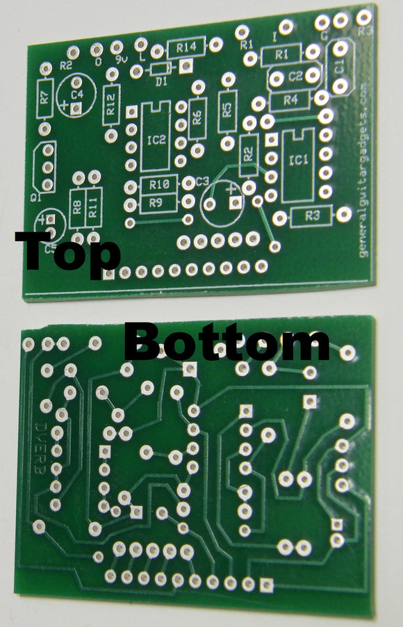 DIGITAL REVERB RTS PCB