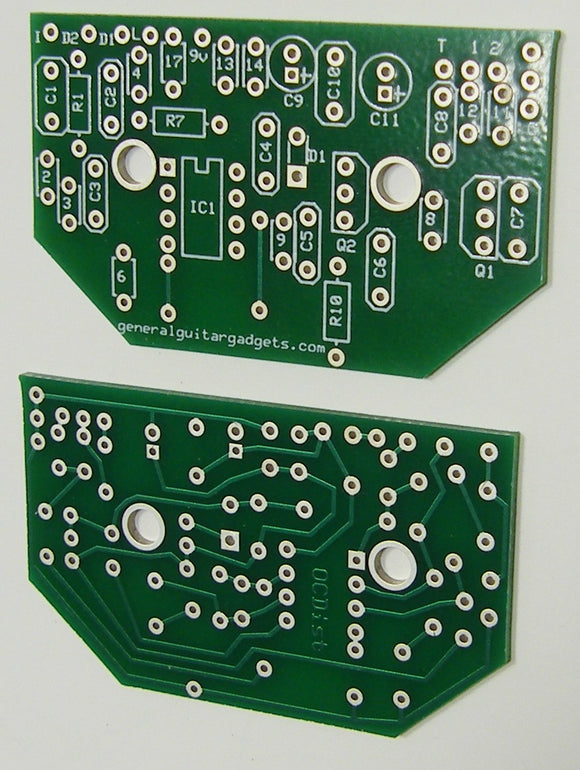 OC DISTORTION RTS PCB