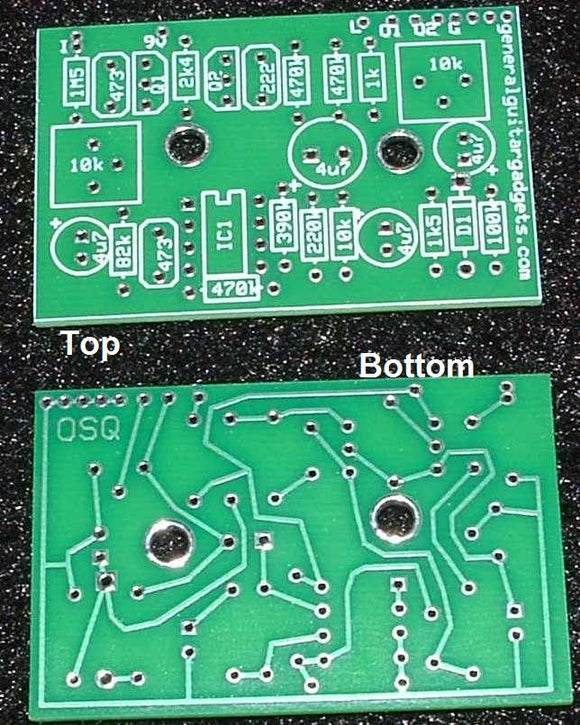 DAN ARMSTRONG™ ORANGE SQUEEZER™ REPLICA RTS PCB