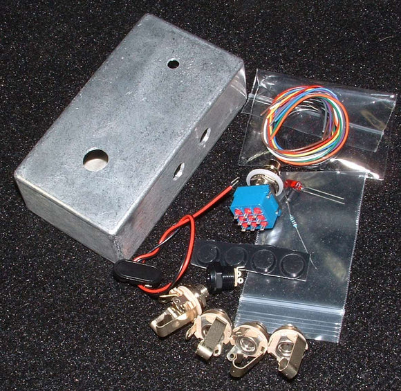 EFFECTS LOOP SWITCH BOX COMPLETE KIT