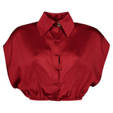 Red Monet Blouse