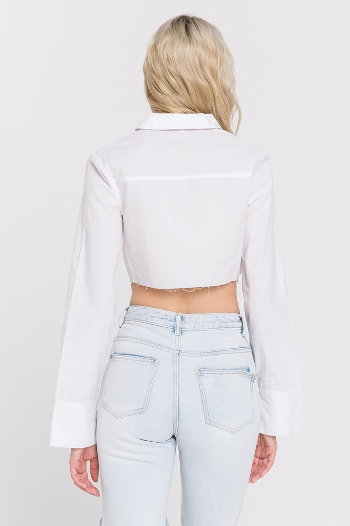 Cropped Bell SLV Shirt