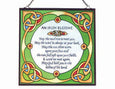 Irish Blessing Square Panel