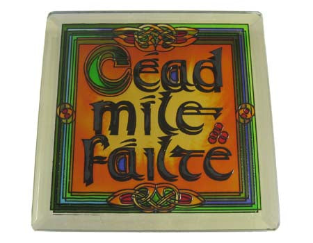 Failte Coaster - Stained Mirror