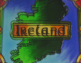Map of Ireland Coaster - Stained Mirror