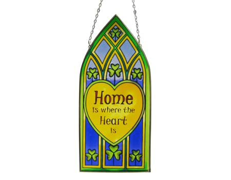 Home is where Heart is Gothic Panel