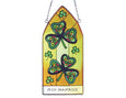 Irish Shamrock Gothic Panel