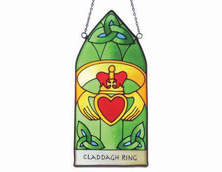 Claddagh Ring Gothic Panel