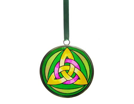 Hanging Trinity Knot Roundel