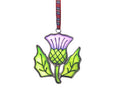 Scottish Thistle Christmas Decoration