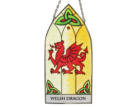 Welsh Dragon Gothic Panel