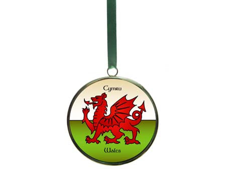 Welsh Dragon Roundel
