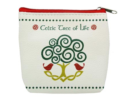 Celtic Tree of Life Zip Purse