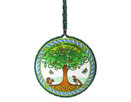 Tree of Life Rope Plaque