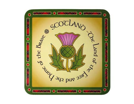 Scotland the Brave Coaster