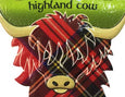 Highland Cow Head Resin Magnet
