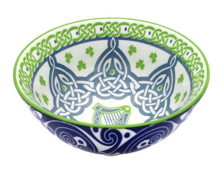 Irish Harp Bowl 11cm