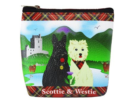 Scottie & Westie Money Purse