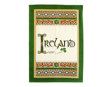 Ireland Pot Holder & Tea Towel