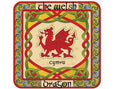 Set of 4 Welsh Dragon Coasters