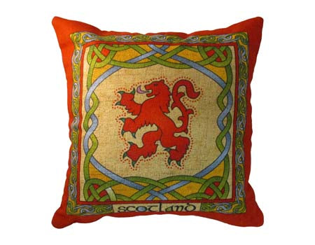 Lion Rampant Cushion Cover