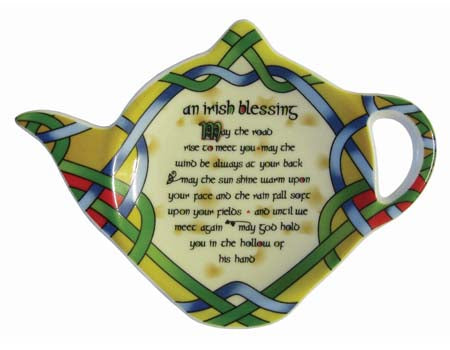 Irish Blessing Teabag Holder