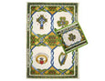 Emblem Tea Towel & Shamrock Pot Holder