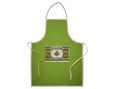 Apron with Shamrock on Pocket
