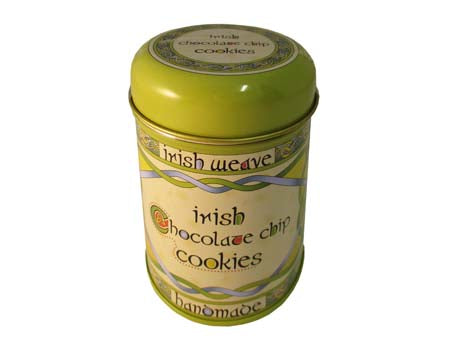 Irish Chocolate Chip Cookies Tin