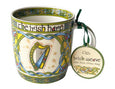 Irish Harp China Mug Irish gift from Galway Ireland.