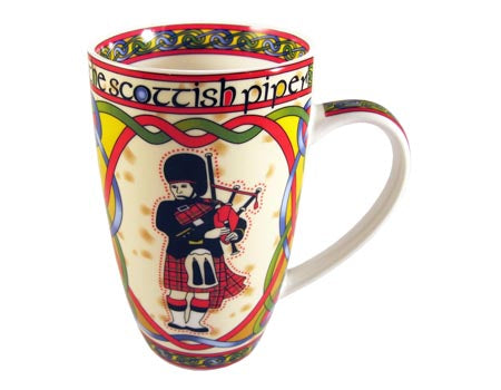 Scottish Piper Mug
