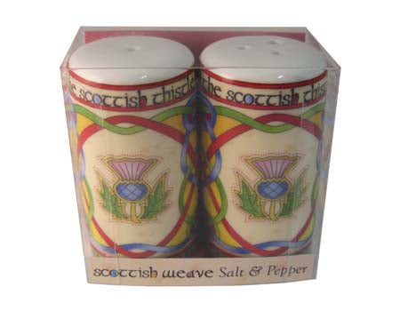 Scottish Thistle Salt & Pepper Set