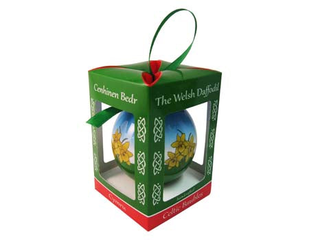 Welsh Daffodil Bauble