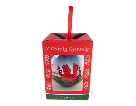 Welsh Dragon Bauble