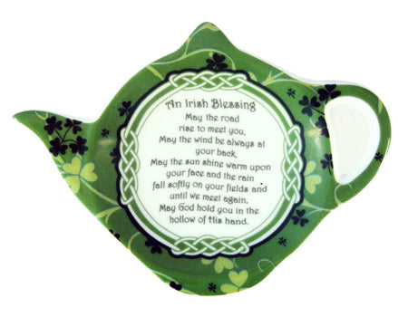 Shamrock Garden Teabag Holder