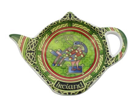 Celtic Peacock Teabag Holder
