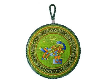 Celtic Peacock Rope Plaque