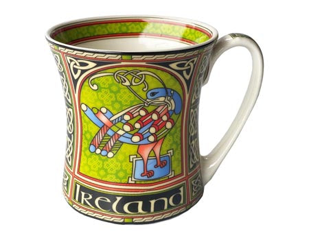 Celtic Peacock Mug