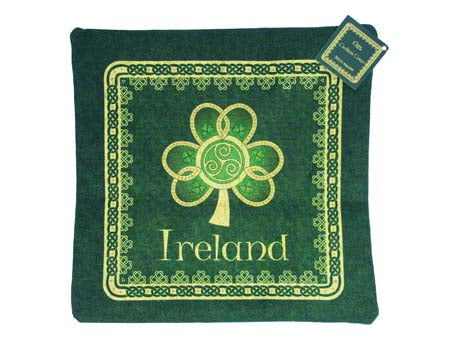Shamrock Spiral Cushion Cover Small