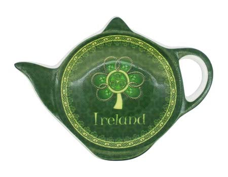 Shamrock Spiral Teabag Holder