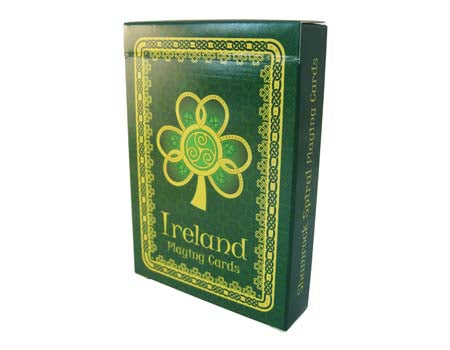 Shamrock Spiral Playing Cards