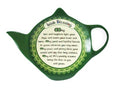 Shamrock Spiral Blessing Teabag Holder