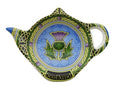 Scottish Thistle Teabag Holder Celtic Window