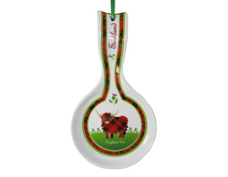 Highland Cow Spoon Rest