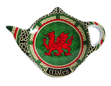 Welsh Dragon Teabag Holder Celtic Window
