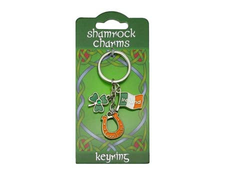 Good Luck Charms Keyring