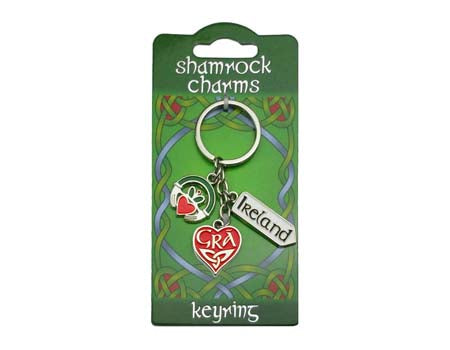 Love Charms Keyring